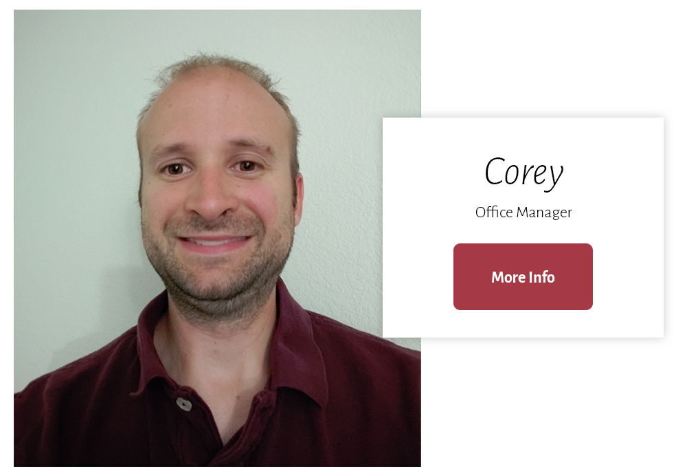 Corey, Office Manager at The Other Road Counseling Loveland